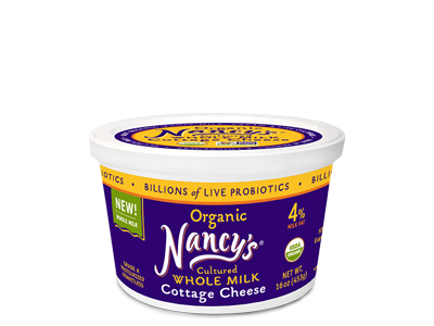Organic Natural Cottage Cheese