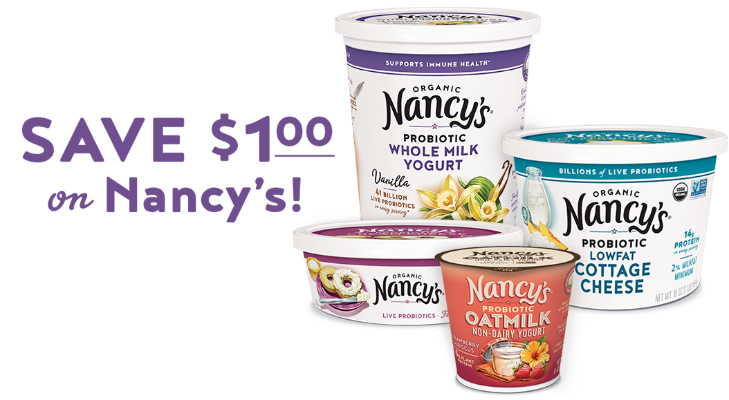Save $1.00 on Nancy's!